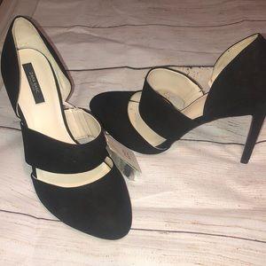 Zara Black Heels Shoes 9 New